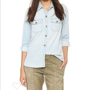 Current Elliott | The Perfect Shirt Pier Chambray